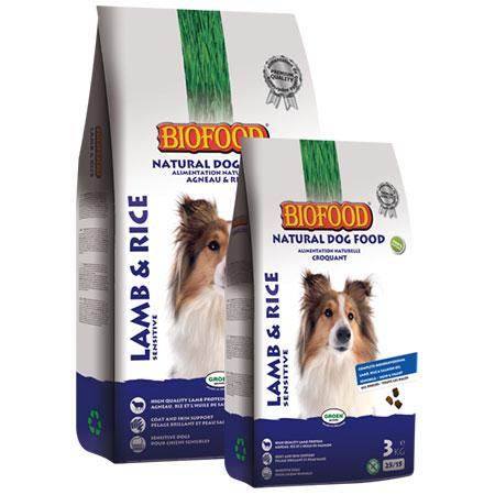 Hondenvoer Biofood lam en rijst