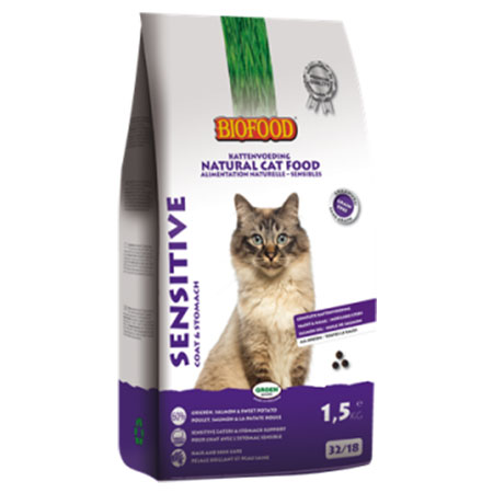 Kattenvoer Biofood Sensitive