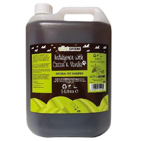 Nature's Groom Cacoa & Vanilla shampoo