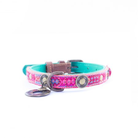 DWAM Boho Rosa halsband 2 cm