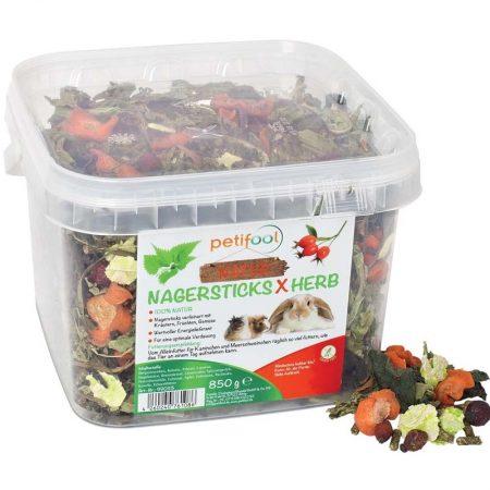 Petifool Nagersticks x Herb 850 gram