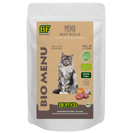Bio Rund Menu Kat 100 gram